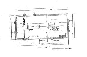 Building Permit Basement Plan Sketch